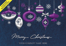 Blue Whimsy  Christmas Cards